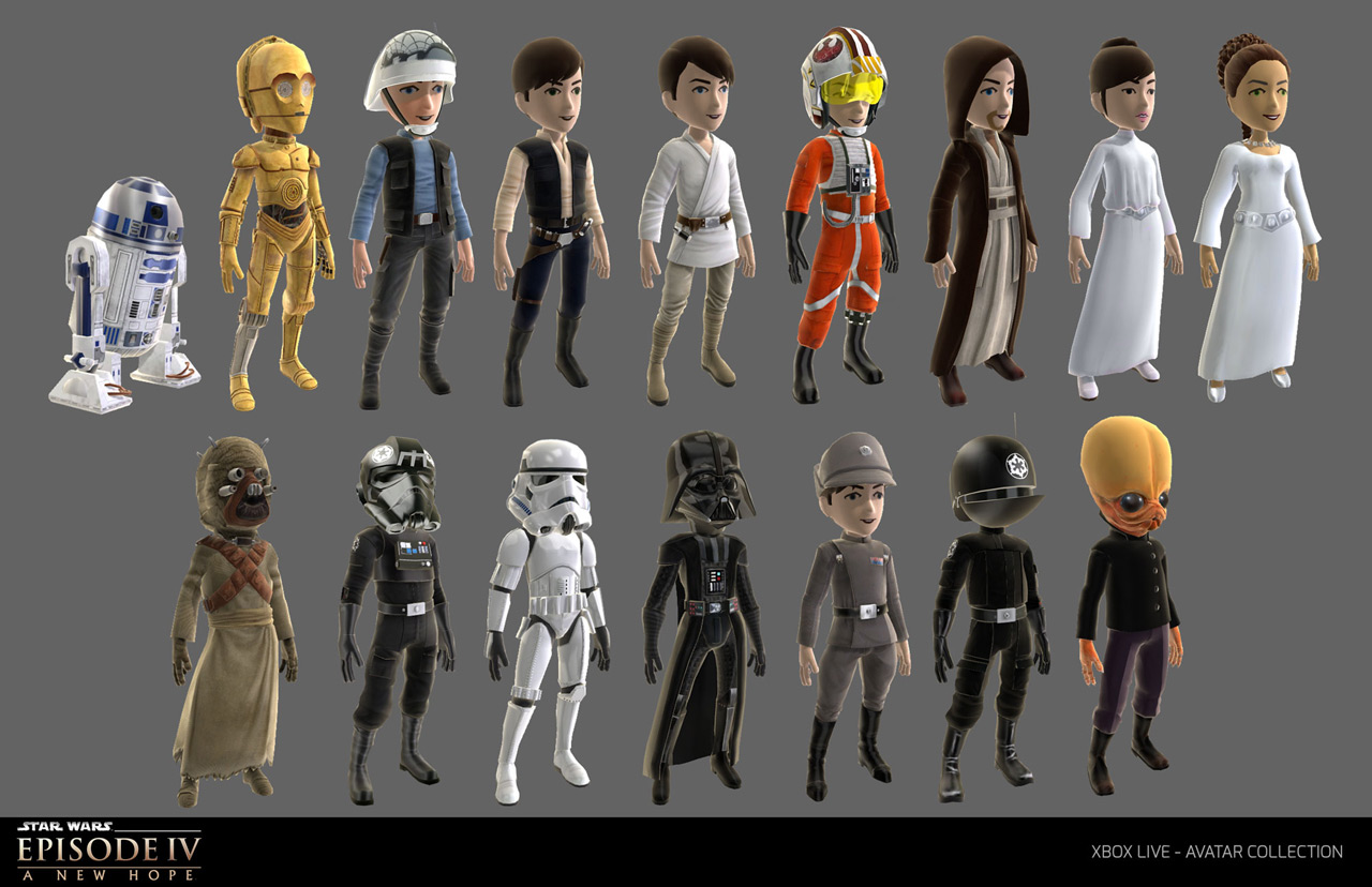 New Star Wars Content Hits The Xbox Live Avatar