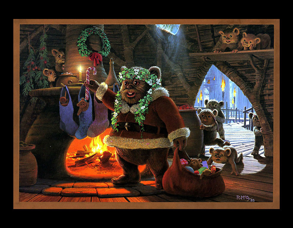 40 Years Of Lucasfilm Star Wars Holiday Cards