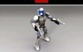 Erstes Bild der LEGO 75107 Jango Fett Buildable Figure