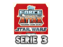 TOPPS Force Attax The Clone Wars Serie 3