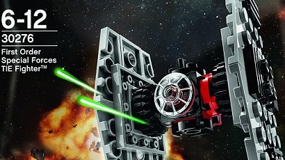 #shortcut: LEGO Star Wars First Order Special Forces TIE Fighter Polybag bald verfügbar!