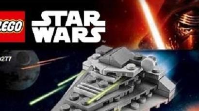 #shortcut: LEGO Star Wars 30277 First Order Star Destroyer Polybag kommt ebenfalls!