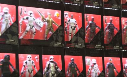 Do-it-yourself Display für Hasbro Star Wars Black Series Figuren
