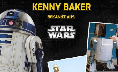 #shortcut: Kenny Baker auf der German Comic Con Berlin