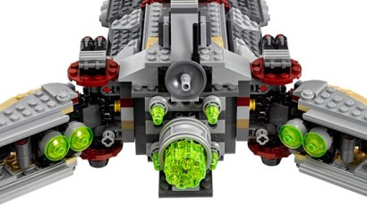 Alle Infos & Bilder zur LEGO 75158 Rebel Combat Frigate