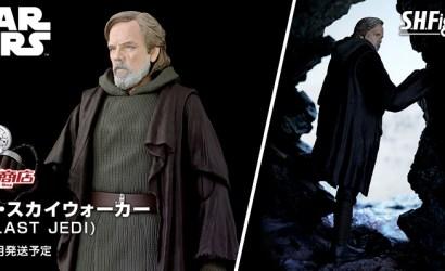 """S.H.Figuarts Luke Skywalker Figur zu """"The Last Jedi"""" vorgestellt"""