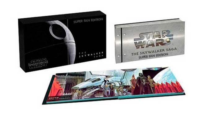 """Star Wars Blu-Ray edición """"super fan"""" contendrá escenas alternativas para los 9 Episodios"""