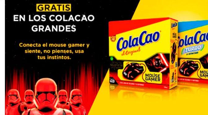 Promoción Mouse Gamer ColaCao