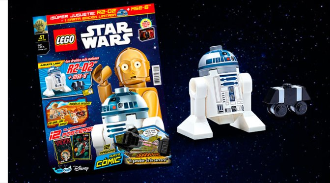 Revista LEGO® Star Wars™ #57