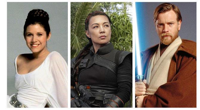 Carrie Fisher, Ming-Na Wen y Ewan McGregor tendrán su estrella en el Paseo de la Fama