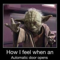 Yoda Door Opener