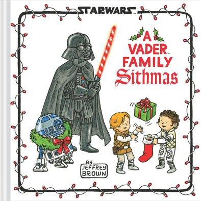 Jeffrey Brown ritorna con Star Wars A Vader Family Sithmas un nuovo libro destinato ai bambini ambientato nella Galassia Lontana.