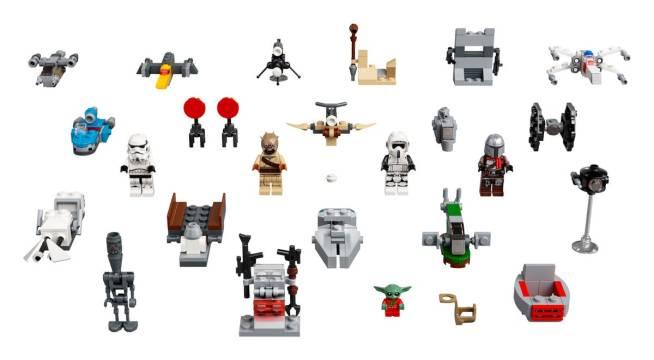 LEGO calendario avvento