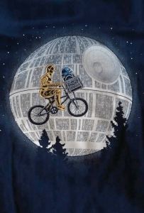 Funny Star Wars Wallpaper (C3PO and R2D2)