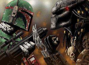 Boba Fett VS The Predator Wallpaper