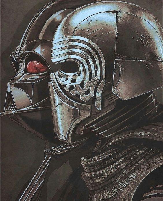 Darth Vader & Kylo Ren Wallpaper