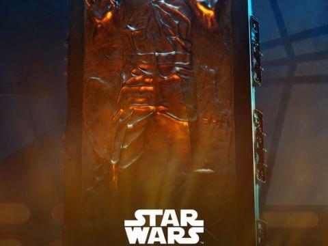 Han Solo en Carbonita (The Empire Strikes Back).