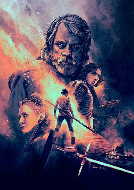 Star Wars The Last Jedi Poster Wallpaper