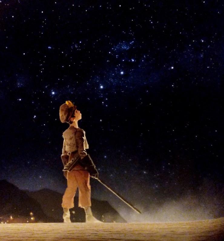 The Art of Star Wars: The Last Jedi - Temiri Blagg (broom boy)
