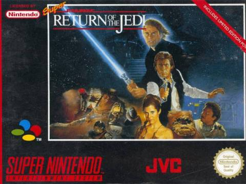 Super Star Wars-Return of the Jedi - Nintendo Super NES - Play Retro Games