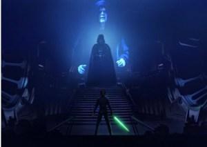Emperor Palpatine - Darth Vader - Luke Skywalker (Return of the Jedi).