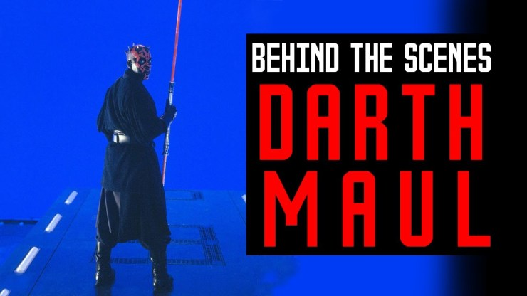 Darth Maul | Behind The Scenes History 1