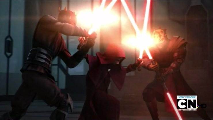 Darth Maul & Savage Opress VS Darth Sidious on Mandalore 1