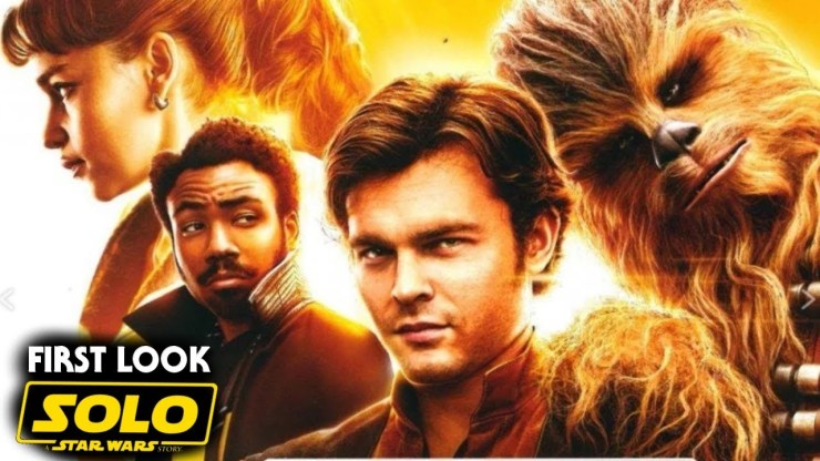 Han Solo Movie First Look Revealed! (Solo A Star Wars Story)