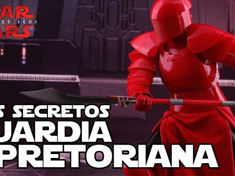 Los secretos de la guardia de Snoke - Star wars Los Ultimos Jedi
