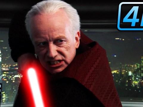 Mace Windu vs Palpatine | Star Wars Revenge of the Sith (2005) 8
