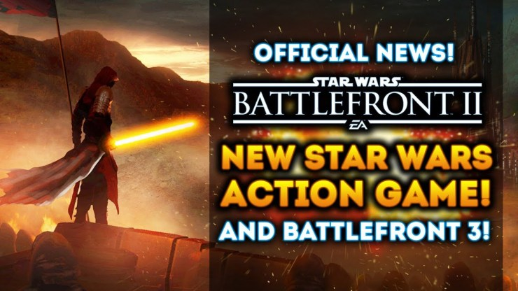 NEW STAR WARS ACTION GAME! Battlefront 2 and Battlefront 3! NEW OFFICIAL UPDATES from EA! 1