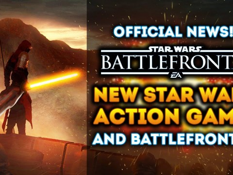 NEW STAR WARS ACTION GAME! Battlefront 2 and Battlefront 3! NEW OFFICIAL UPDATES from EA! 2