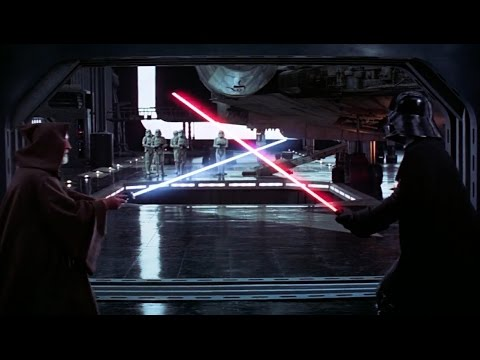 Obi-Wan Kenobi vs Darth Vader - Star Wars A New Hope (Una Nueva Esperanza). 2