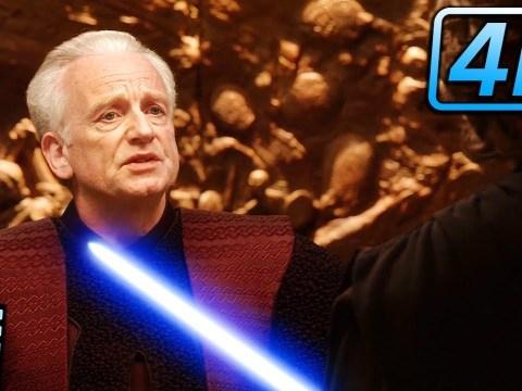 Palpatine Reveals Himself - Star Wars Revenge of the Sith (2005)