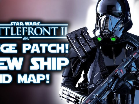 Star Wars Battlefront 2 - HUGE PATCH! New Starfighter