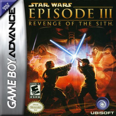 Play Star Wars - Episode III - Revenge of the Sith online Nintendo Game Boy Advance 1