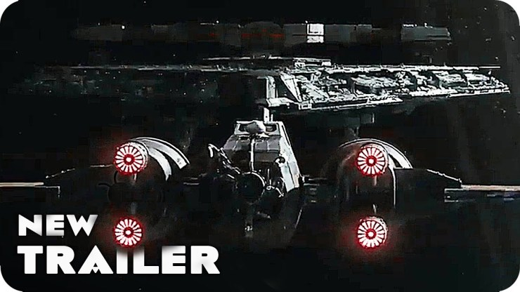 Star Wars Episode VIII: The Last Jedi Trailer 'New Star Destroyer Attack' (2017)