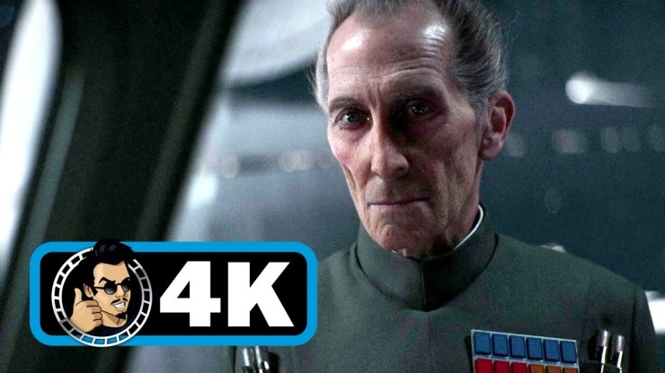 Star Wars Rogue One - Grand Moff Tarkin primera escena (Tarkin first scene).