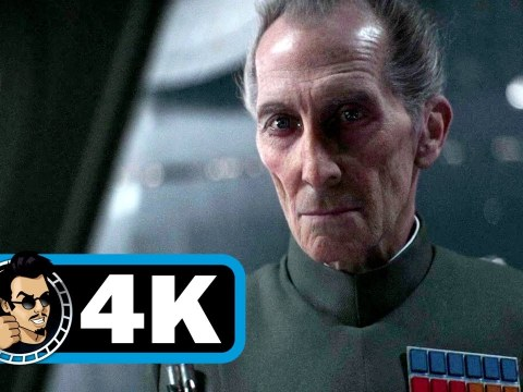 Star Wars Rogue One - Grand Moff Tarkin primera escena (Tarkin first scene). 12