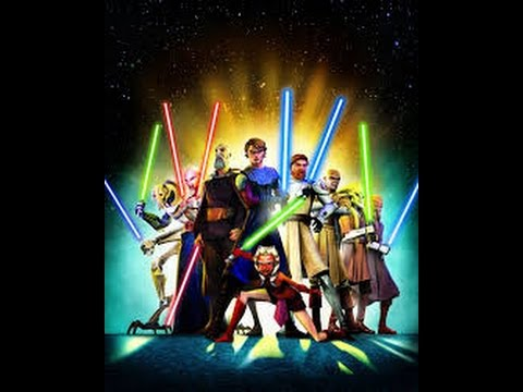 Star Wars The clone wars All lightsaber duels HD
