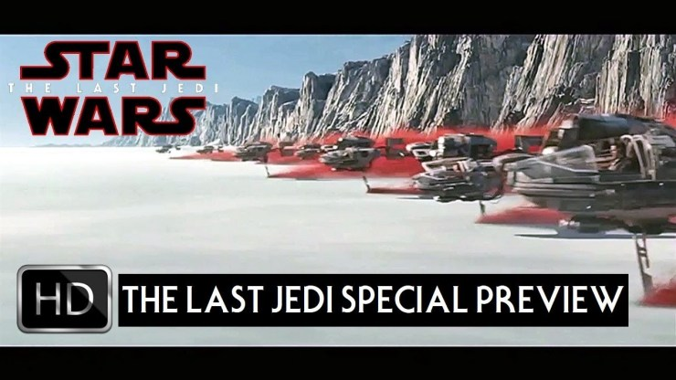 "Star Wars The Last Jedi TV Spot Trailer 15 ""Special Preview"" 1"