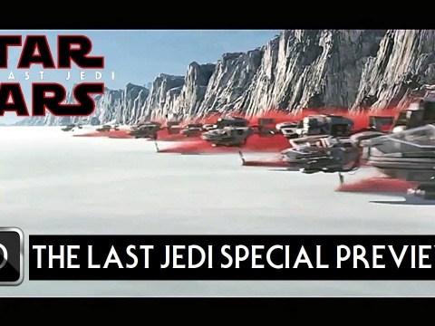 "Star Wars The Last Jedi TV Spot Trailer 15 ""Special Preview"" 7"
