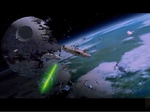 Star Wars VI: Return of the Jedi - Battle of Endor (Space Battles)