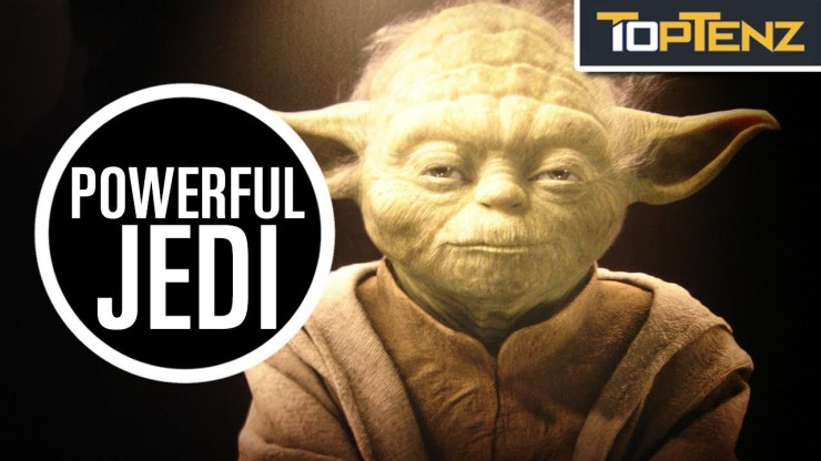 Top 10 Most Powerful Jedi Knights in the Star Wars Universe 1