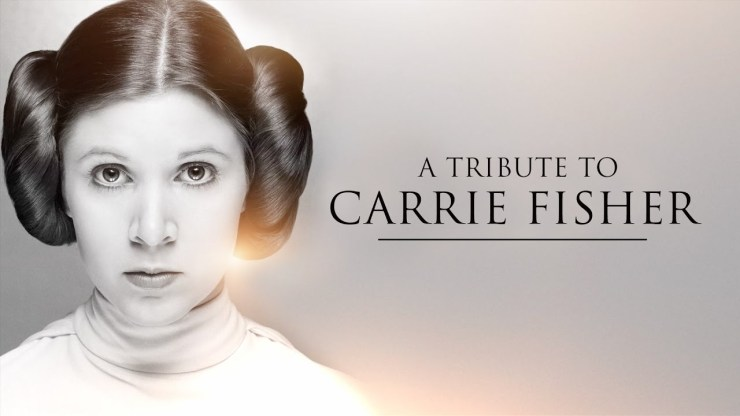 Un tributo a Carrie Fisher (A Tribute To Carrie Fisher)