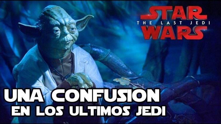 Una gran confusión en los ultimos jedi - Star Wars 1