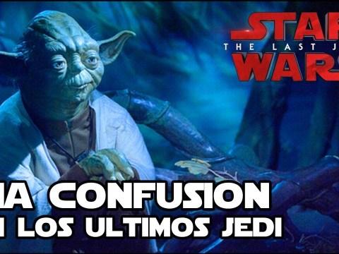 Una gran confusión en los ultimos jedi - Star Wars 4