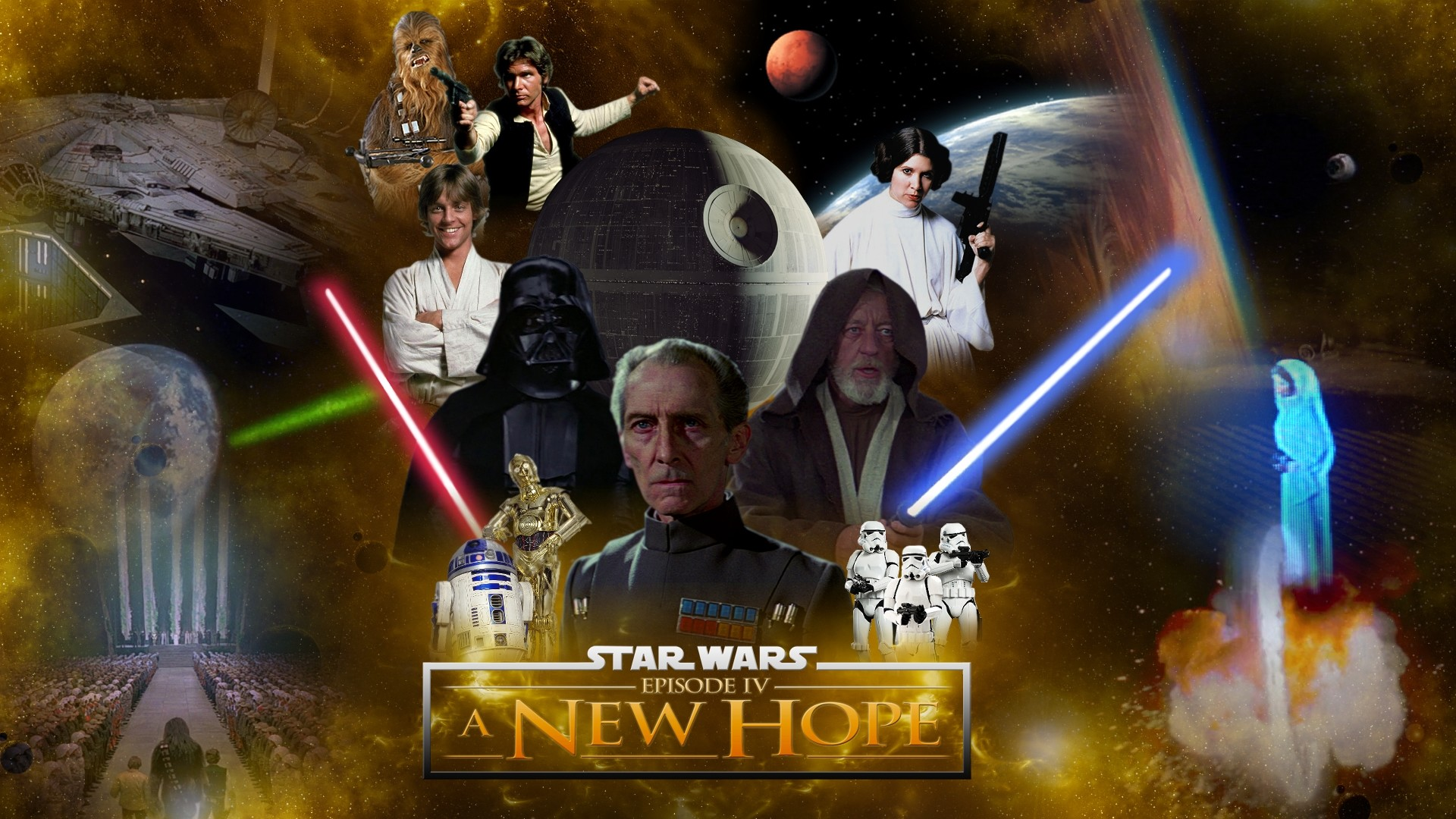 Star Wars Episode Iv A New Hope Wallpapers