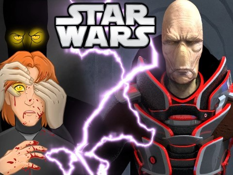 Darth Plagueis Teaches Palpatine Force Lightning for the First Time - Star Wars Explained
