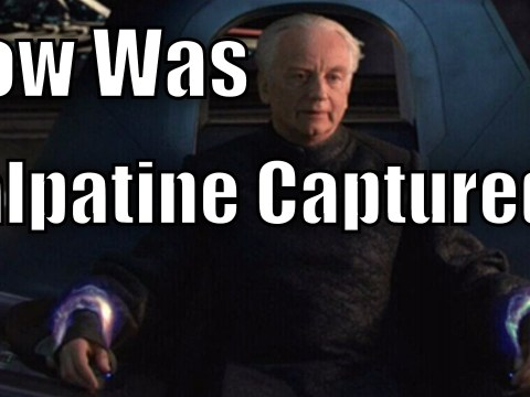 How was Palpatine Captured in Revenge of the Sith?